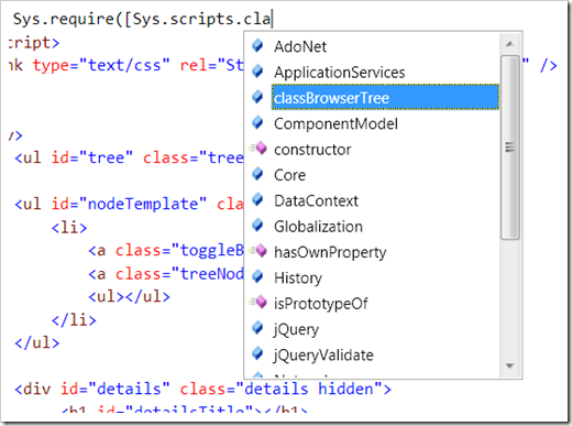 ASP and .NET scripts