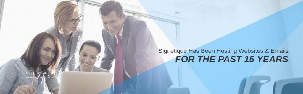 signetique has been hosting websites and email for the past 15 years