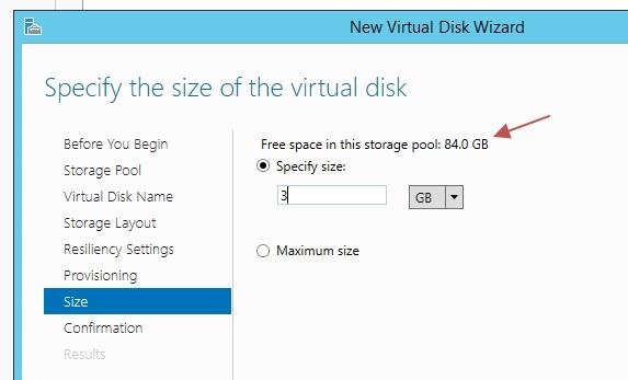 Windows Storage Spaces 11