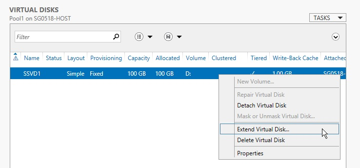 Windows Storage Spaces 12