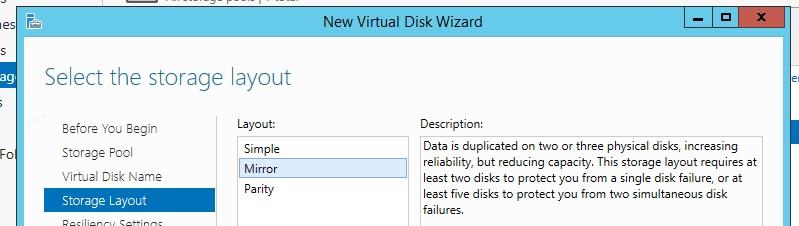 Windows Storage Spaces 6