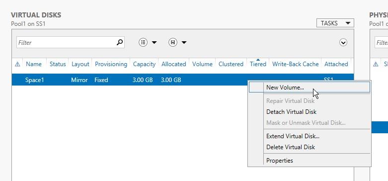 Windows Storage Spaces 8