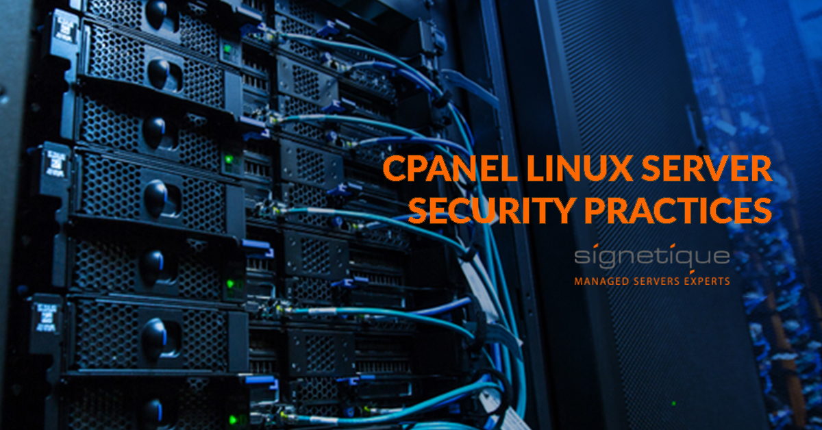 cPanel Linux server security practices