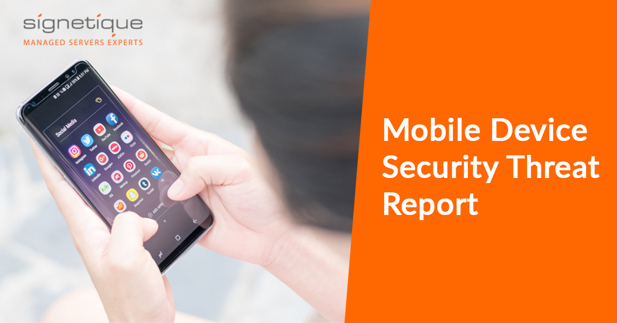Mobile device security threat report