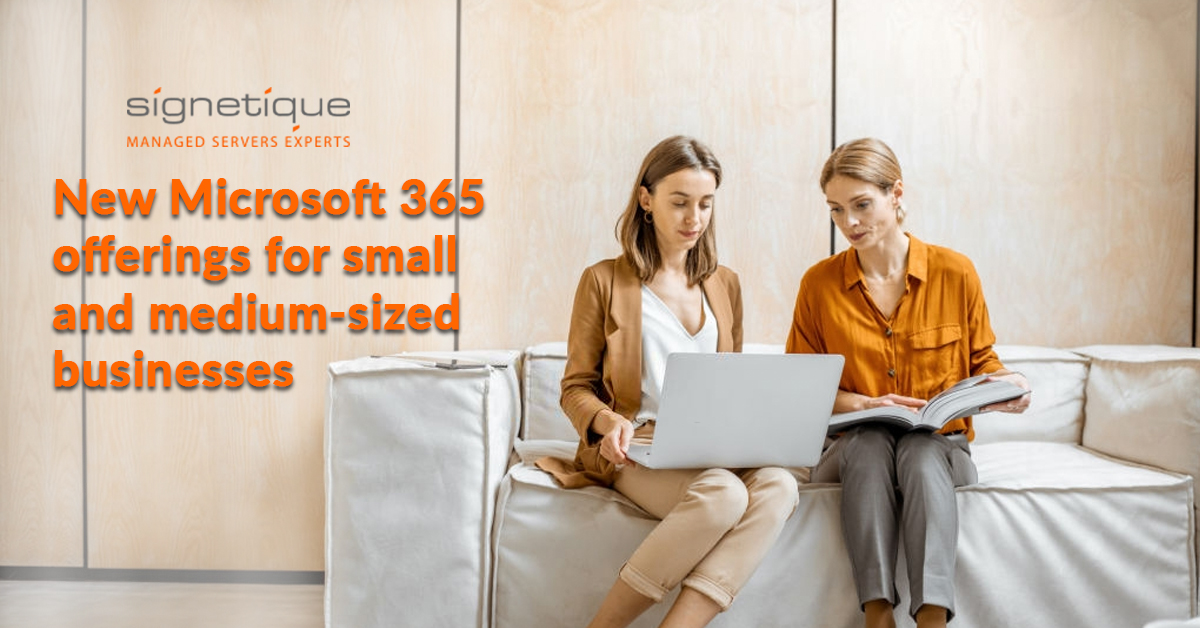 New Microsoft Office 365 for small and medium businesses